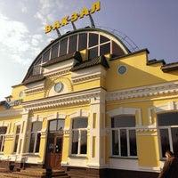 Photo taken at Бобруйск Пассажирский / Bobruysk Railway Station by Volya M. on 4/7/2014