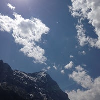 Photo taken at Eiger by andi a. on 7/27/2013