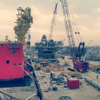 Photo taken at MOPU & KPV Badang Project by Najmi N. on 2/19/2014