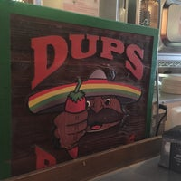 Photo taken at Dup's Burritos by Neal E. on 6/12/2015