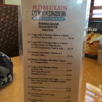 Photo taken at Romulus House Restaurant by Neal E. on 2/5/2015
