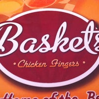 Photo taken at Baskets (Chicken Fingers) by Clau L. on 10/6/2012