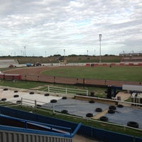 Photo taken at Sittingbourne Greyhounds by Kevin M. on 8/12/2013