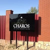 Photo taken at CHAROS DELUX RESORT & SPA by Anvar K. on 8/4/2013