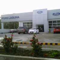 Photo taken at Ford Laguna by Jana Paulyn D. on 7/15/2013