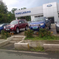 Photo taken at Ford Laguna by Jana Paulyn D. on 8/9/2013