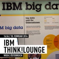 Photo taken at IBM Think!Lounge by Michael M. on 2/18/2014