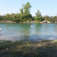 Photo taken at Belle Isle Hipster Beach by Grace P. on 8/25/2013