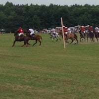 Photo taken at Triangle Charity Polo Classic by Quentin D. on 6/9/2014