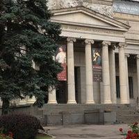 Снимок сделан в Государственный музей изобразительных искусств им. А. С. Пушкина пользователем Alexander L. 7/20/2013
