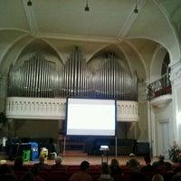 Photo taken at Sala Filarmonica Vincenzo Gianferrari by manuela b. on 10/3/2012