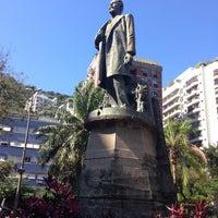 Photo taken at Praça Fonte da Saudade by Willian A. on 8/12/2015
