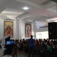 Photo taken at Paróquia Maria Mãe da Igreja e São Judas Tadeu by Felipe T. on 1/26/2014