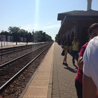 Photo taken at Metra - Roselle by Shale S. on 7/20/2013