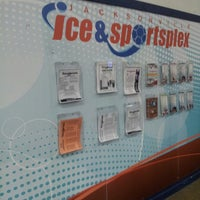 Photo taken at Jacksonville Indoor Ice and Sportsplex by Amy D. on 7/18/2013