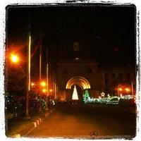 Photo taken at ABAC's Walk Way by Kitti N. on 12/23/2012