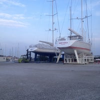 Photo taken at Marina Sant'Andrea by Erdem T. on 1/15/2015