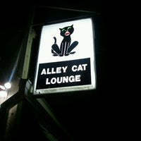 Photo taken at Alley Cat Lounge by Andrew M. on 2/3/2013