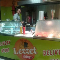 Photo taken at Lezzet Döner by Ilhan S. on 7/15/2013