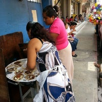 Photo taken at antojitos oaxaqueños josefa by Marino O. on 7/23/2013