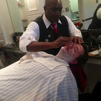Photo taken at Red's Classic Barber Shop Co. by Eric T. on 11/1/2012