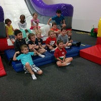 Photo taken at Bounceu Fishers by Eric T. on 4/12/2014
