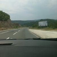 Photo taken at Gostivar - Ohrid by Maria V. on 7/20/2013