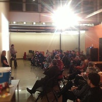 Photo taken at Silicon Prairie News by Dusty D. on 11/30/2012