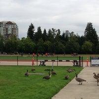 Photo taken at UBC Warren Field by Davi L. on 8/19/2013