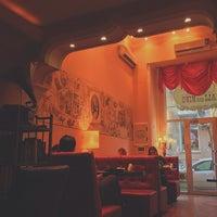 Photo taken at Ali & Nino Cafe by Lutfia E. on 3/1/2014