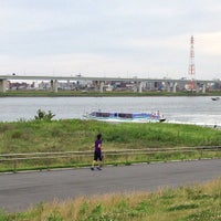 Photo taken at 小松川リバーステーション by nakanoken on 7/20/2013