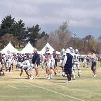 Photo taken at Dallas Cowboys Training Camp by Madeleine S. on 8/13/2014