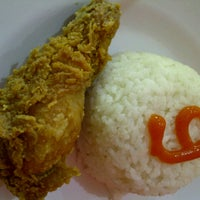 Photo taken at oLive Fried Chicken by Nuri Y. on 4/10/2013