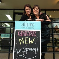Photo taken at Allure hair & beauty by Allure H. on 7/17/2013