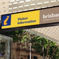 Photo taken at Brisbane Visitor Information Centre by Anita on 1/11/2016