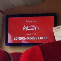 Photo taken at Manchester Piccadilly (MAN) to London Euston (EUS) Train by Anita on 8/22/2017