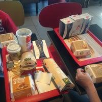 Photo taken at McDonald's by Karolina F. on 8/3/2013