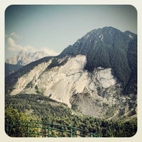 Photo taken at Vajont by Fabrizio D. on 8/4/2013