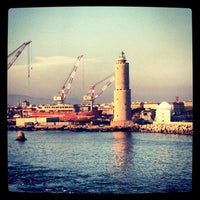 Photo taken at Porto di Livorno by Hassen L. on 7/26/2013