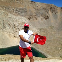 Photo taken at Gölet by Mehmet Nuri T. on 8/16/2013