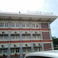 Photo taken at Fakultas Hukum by Adji K. on 12/6/2013