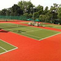 Photo taken at campden hill lawn tennis club by Natasha M. on 7/16/2013