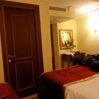 Photo taken at Amber Hotel by Metin on 2/28/2014