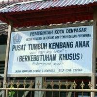 Photo taken at Pusat Tumbuh Kembang Anak Berkebutuhan Khusus Kota Denpasar by Sekar W. on 7/24/2013