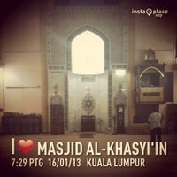 Photo taken at Masjid Al-Khasyi'in by mrpolie™ on 1/16/2013
