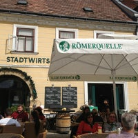 Photo taken at Stadtwirtshaus Wolkersdorf by Karl P. on 9/22/2013