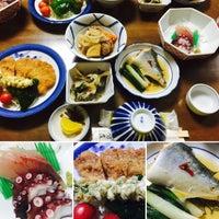 Photo taken at 汐島荘 by Takuya N. on 9/20/2015
