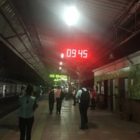 Photo taken at Lower Parel Railway Station by Alethea F. on 4/26/2017