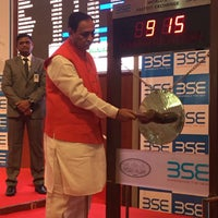 Photo taken at Bombay Stock Exchange (BSE) by Alethea F. on 11/22/2016