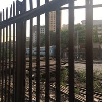 Photo taken at Lower Parel Railway Station by Alethea F. on 4/13/2017